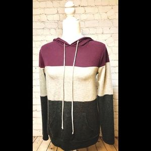 Anthropologie Staccato Pullover Hoodie Small